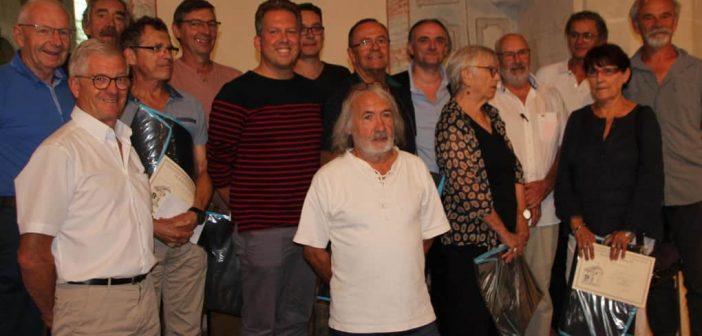 Les lauréats du Salon de peintures-sculptures de la semaine du patrimoine