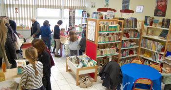 Activité à la bibliothèque